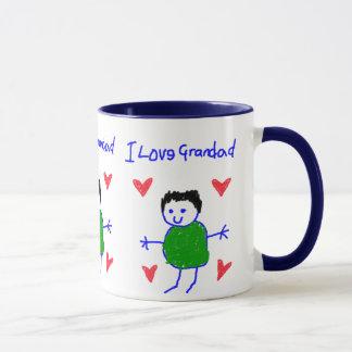 I Love Grandad Mug