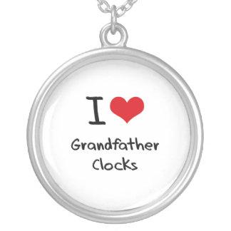 I Love Grandfather Clocks Custom Jewelry