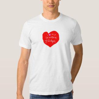 I Love Grandma and Grandpa Tee Shirt