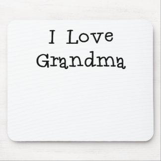 I Love Grandma.png Mousepads
