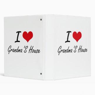 I love Grandma'S House Binders