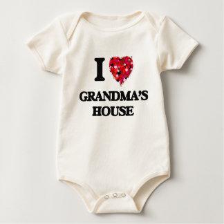 I love Grandma'S House Rompers