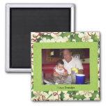 I Love Grandpa 2 Inch Square Magnet