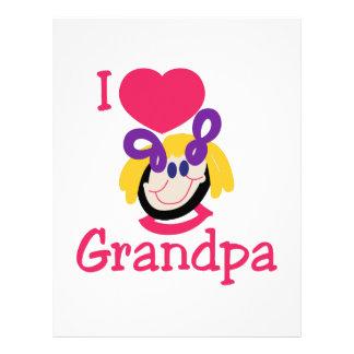 I Love Grandpa Letterhead