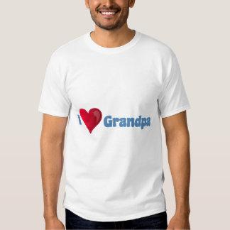 I Love Grandpa Shirt