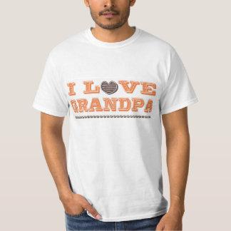 I Love Grandpa T Shirt
