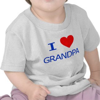 I Love Grandpa Tshirt