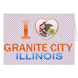 I Love Granite City, IL Cards