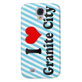 I Love Granite City, United States Samsung Galaxy S4 Cover