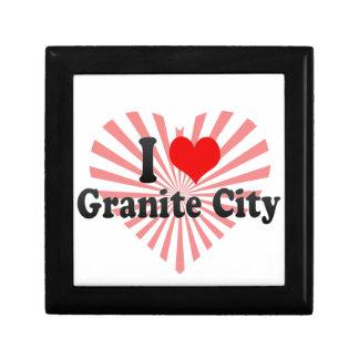 I Love Granite City, United States Gift Boxes