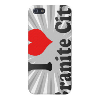 I Love Granite City, United States Covers For iPhone 5