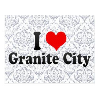 I Love Granite City, United States Postcards