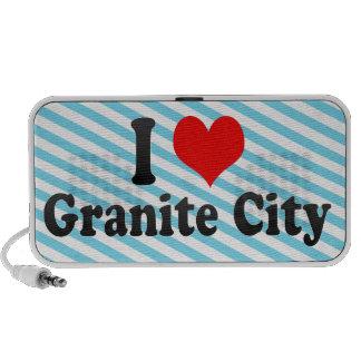 I Love Granite City, United States Mp3 Speaker