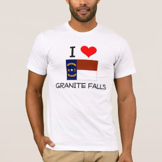 I Love Granite Falls North Carolina T-Shirt