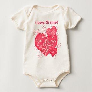 I Love Granny (or any name) shirt