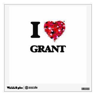 I love Grant New Jersey Wall Decor