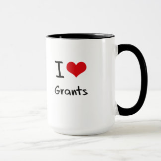 I Love Grants Mug
