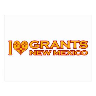I Love Grants, NM Postcard