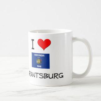 I Love Grantsburg Wisconsin Mugs