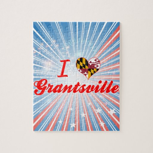 I Love Grantsville, Maryland Jigsaw Puzzles
