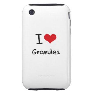 I Love Granules iPhone 3 Tough Covers