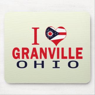 I love Granville Ohio Mousepad