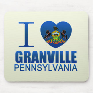 I Love Granville PA Mouse Pad