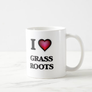 I love Grass Roots Coffee Mug