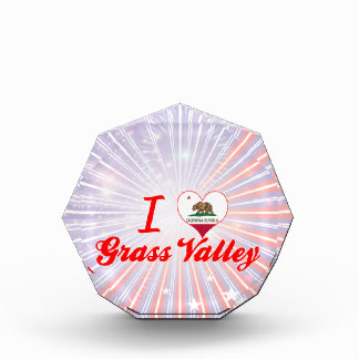 I Love Grass Valley, California Award