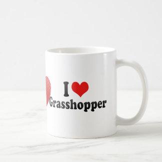 I Love Grasshopper Classic White Coffee Mug