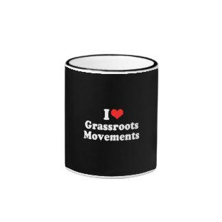 I LOVE GRASSROOTS MOVEMENTS.png Coffee Mugs