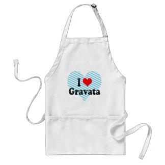 I Love Gravata, Brazil. Eu Amo O Gravata, Brazil Apron