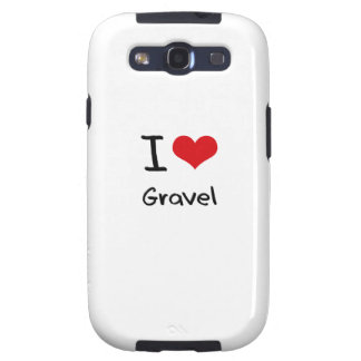 I Love Gravel Galaxy S3 Cover