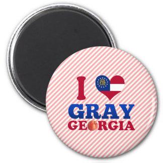 I Love Gray, Georgia Fridge Magnet