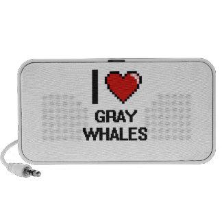 I love Gray Whales Digital Design iPod Speakers