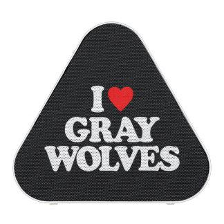 I LOVE GRAY WOLVES SPEAKER