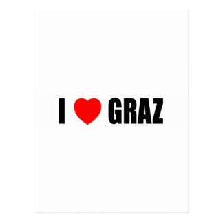 I Love Graz Postcard