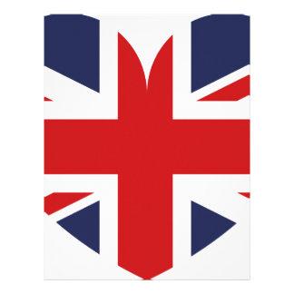 I love Great Britain Letterhead