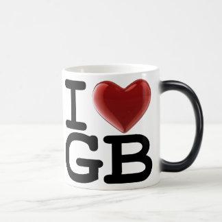 I Love GREAT BRITAIN Magic Mug