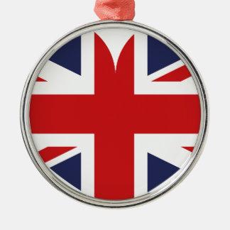 I love Great Britain Metal Ornament