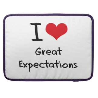 I love Great Expectations Sleeve For MacBook Pro