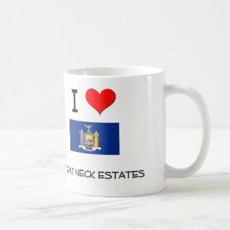 I Love Great Neck Estates New York Mug