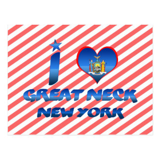 I love Great Neck, New York Postcard