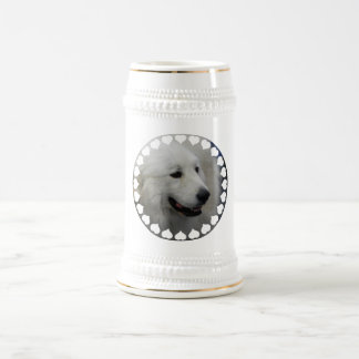 I Love Great Pyrenees  Beer Stein