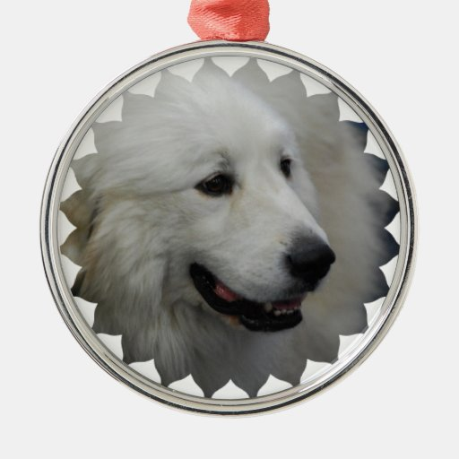 I Love Great Pyrenees  Ornaments