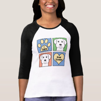 I Love Great Pyrenees T-Shirt