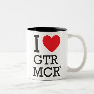 I love Greater Manchester Mugs