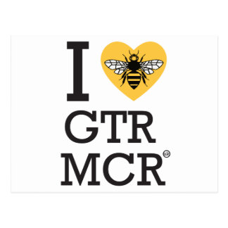 I love Greater Manchester Postcard
