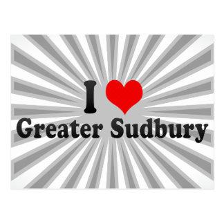I Love Greater Sudbury, Canada Postcard