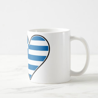I Love Greece Coffee Mug